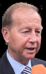Der frühere Chef des Bundeskanzleramtes, Friedrich Bohl, berichtet als Zeitzeuge aus der Zeit des Mauerfalls. Foto: (CC BY-SA 3.0 DE)