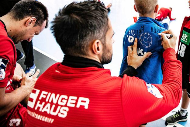 Handball-Bundesligist MT Melsungen meldet Neuigkeiten aus dem Bereich »Sponsoring«. Foto: Alibek Käsler