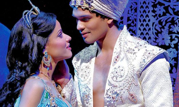Szenebild aus Aladin. Foto: Stage Entertainment | nh