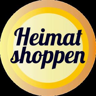 Mit »Heimat shoppen« wollen die beteiligten Kommunen die Kaufkraft vor Ort stärken. Logo: heimat-shoppen.de