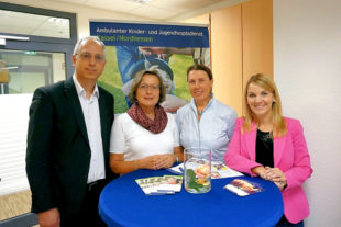Yanki Pürsun, Marlie Spoelstra, Brigitta Priester und Wiebke Knell (v.li.). Foto: FDP