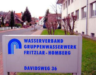 Gruppenwasserwerk Fritzlar Homberg. Foto: Gerald Schmidtkunz