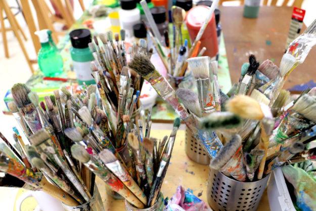 Das Atelier Farbenhaus bietet in Kürze einen Schnupperabend an. Foto: Christina Rausch | nh