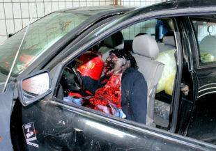 Unfall-Dummie für die DRK-Ausbildung. Foto: nh