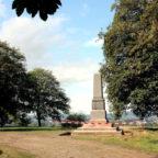 Die Bauarbeiten am Kaiser-Wilhelm-Denkmal auf dem Nacken sind fast abgeschlossen. Foto: nh