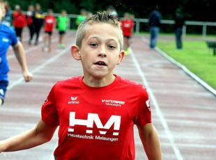 Jean Heilmann lief als einziger die 50 Meter unter acht Sekunden. Foto: nh