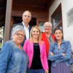 Rita Schemenau, Yanki Pürsun, Wiebke Knell, Renate Schütz, Rosaria Brighina-Linker (v.li.). Foto: FDP