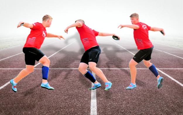 Luis André arbeitet sich unaufhaltsam an den Hessenrekord heran. Collage: SEK-News