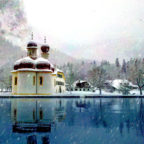 Sankt Bartholomä am Königssee im Berchtesgadener Land. Foto: Michael J. M. Lang | Pixabay