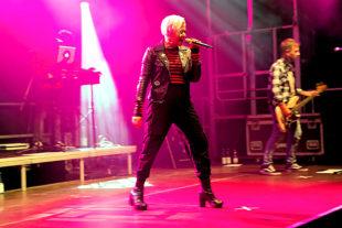 »Pink« bei ihrem Auftritt auf den Hephata-Festtagen 2019. Foto: © Stefan Betzler | Hephata