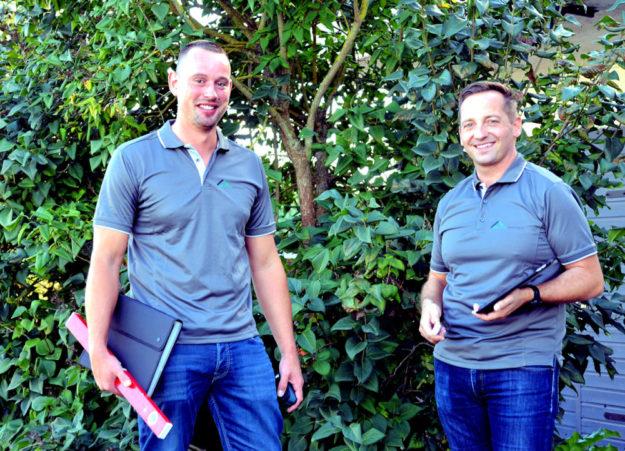 Patrick Kästner(li) und Steffen Braunsteiner. Foto: nh