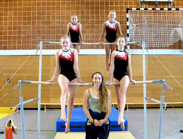 Die Mannschaft P 5/P 6 zusammen mit Trainerin Ruby van Dijk. Foto: nh