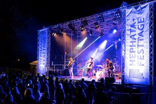 The Red Hot auf dem Hephata-Festival für Vielfalt und Teilhabe. Foto: Stefan Betzler | Hephata
