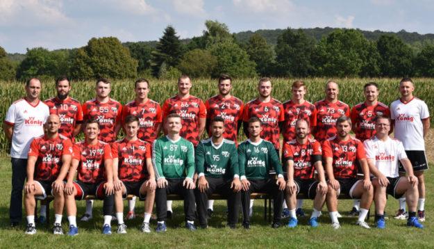 Die 1. Mannschaft des TSV Ost-Mosheim. 2 Fotos: TSV