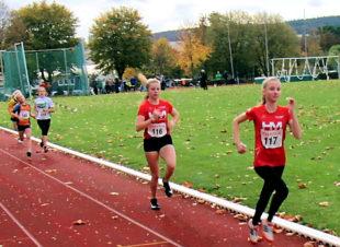 Bereits nach 200 m führte das MT-Duo das 800m-Feld souverän an. Foto: nh