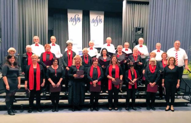 Der Homberger Chor Cantare musica. Foto: nh