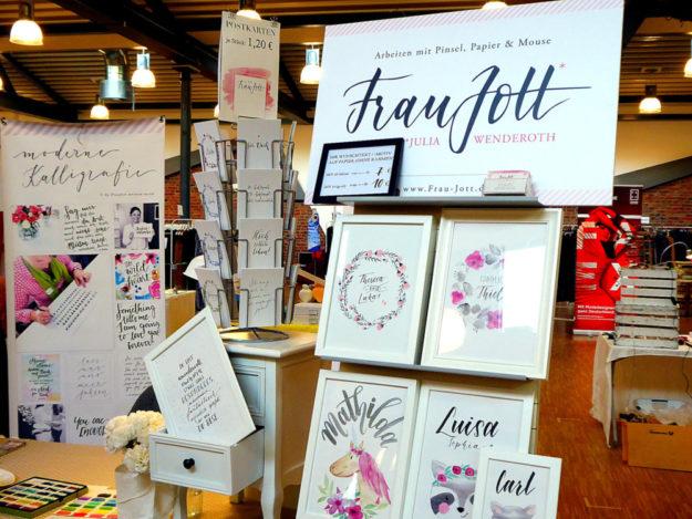 Karten-Kunst und Kunst-Karten sind weitere Beispiele für die hohe Kreativität der Aussteller. Foto: nh