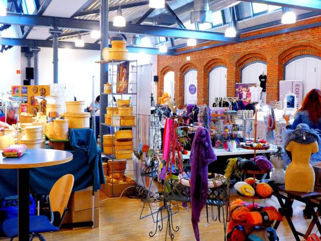 Handarbeiten, Kunst, Alltägliches und vieles mehr hat der Lifestyle-Markt »Deine eigenART« in petto. Foto: nh