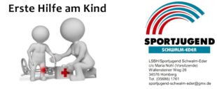 Erste Hilfe am Kind. Die Sportjugend Schwalm-Eder bietet neue Kurse an. Grafik: nh
