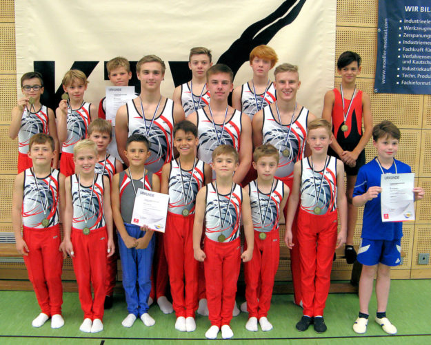 Mit viel Enthusiasmus und Leistungswillen zogen die jungen Sportler in die Gaumeisterschaften in Petersberg. Foto: nh