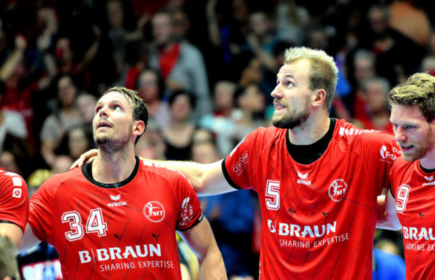 Die MT Melsungen trifft im Bundesliga-Handball im kommenden Heimspiel auf den HC Erlangen; Donnerstag, 17.10.19, ab 19:00 Uhr in der Rothenbach-Halle. Foto: Heinz Hartung