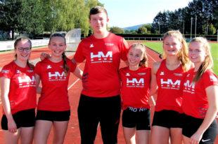 Das immer wieder erfolgreiche Leichtathletik-Team der MT Melsungen wusste auch in Aschaffenburg sportlich zu gefallen. Foto: nh