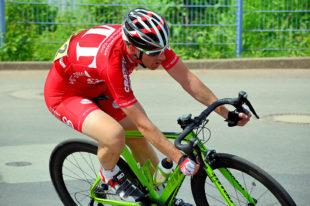 Mit dem MT Regio Team ist Senioren-2-Fahrer Mirco Holzhauer bis zum Saisonschluss doch noch unter die Top Ten gefahren. Foto: MT Radsport