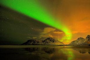 Aurora Borealis – Polarlicht im Land der Mitternachtssonne. Foto: Jörg Delpho