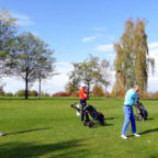 Beim Kurhessischen Golfclub Oberaula/Bad Hersfeld wurde kürzlich das Turnier zum Saison-Abschluss ausgetragen. Foto: nh