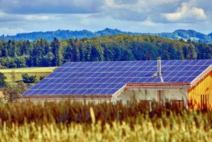 Auf tausenden Dächern schlummert noch viel Potenzial für Photovoltaik, also die Stromerzeugung aus Sonneneinstrahlung. Foto: Roy Buri | Pixabay