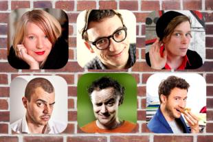 Wer holt sich die Scharfe Barte? Die sechs Finalisten sind (v.li., o.): Turid Müller, Sven Garrecht, Sunna Huygen, Nikita Miller, Lormann - Lorenz Böhme, Florian Wagner. Fotos: nh