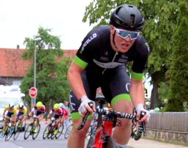 Vitus Obermann ist ein Elite-Amateur auf Bahn und Straße. Foto: Merle Obermann