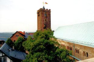 Bergfried und Palas der Wartburg. Foto: Schmidtkunz
