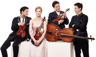 Das Schumann Quartett konzertiert Anfang Juni in der Melsunger Stadtkirche. Foto: nh