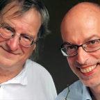 Sänger Jochen Faulhammer und Schriftsteller Dr. Werner Seibel. Foto: nh
