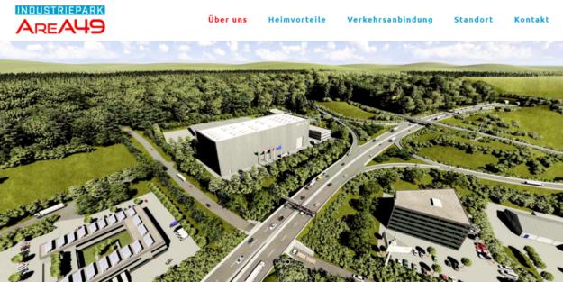 Im Bau der A 49 mit Gewerbeansiedlungen sehen die Befürworter ein wichtiges Infrastrukturprojekt für den Schwalm-Eder-Kreis und seine Bürger. Screenshot: SEK-News, 14.11.2019
