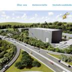 Sogar der ADAC-Hubschrauber fliegt schon über den Industriepark AreA49. Allerdings nur online in der Imagekampagne. Screenshot: SEK-News, 14.11.2019