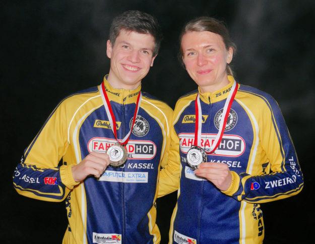 Medaillen für Ben Völker und Jasmin Corso. Foto: nh