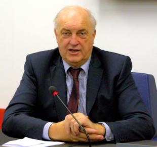MdEP Charles Goerens, Agraringenieur und Mitglied der Demokratesch Partei. Foto: Gerald Schmidtkunz