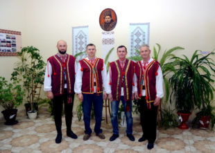 """Aus Gudensbergs ukraninischer Partnerstadt kommt die Folklore-Band »Fajni Musyky"""". Foto: Veranstalter"""