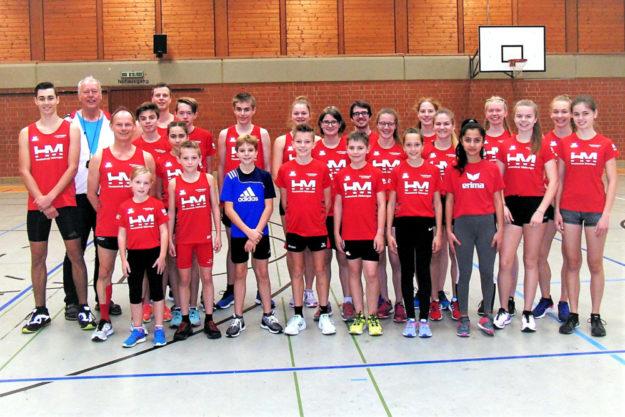 Das MT-Team bei der Saisoneröffnung 2020 in der Melsunger Stadtsporthalle. Foto: nh