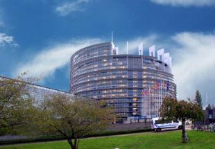 Das Europäische Parlament in Straßburg. Foto: Gerald Schmidtkunz