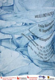 Einladung zur Vernissage in Willingshausen. Flyer: nh