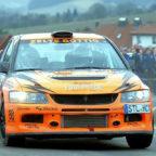 Das favorisierte Mitsubishi Team Göttig/Solbach-Schmidt geht mit Nummer 1 an den Start. Foto: rthb