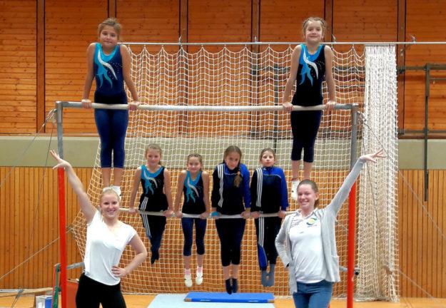 Die SCN-Mädchen lieferten einen ansehnlichen Wettkampf. Foto: nh