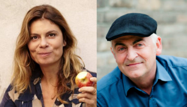 Sarah Wiener und Martin Häusling machen sich Gedanken über Essen in Zeiten des Klimawandels. Fotos: nh | Sarah Wiener Stiftung, Christian Kaufmann