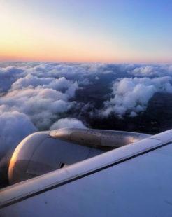 Über den Wolken. Foto: Andreja Schmidtkunz