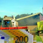 """Es gibt mafiose Strukturen, in denen landwirtschaftliche Subventionen rücksichtslos """"abgemäht"""" werden. Martin Häusling, MdEP, fordert ein Ende der Günstlingswirtschaft. Fotomontage: gsk"""