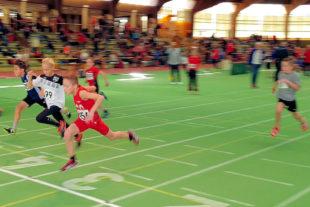 Auch im 50m-Sprint war Jean Heilmann nicht zu bezwingen. Foto: nh