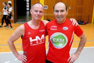 Bernd Gabel und Basilius Balschalarski (re.). Foto: nh